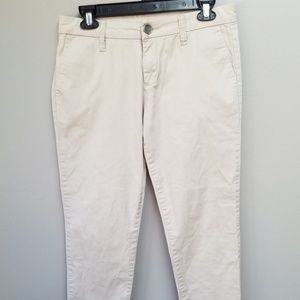 Kut from the Kloth Catherine Ankle Pants Khaki S 4